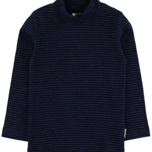 Hust and Claire X-Mas Bluse - Anita - Navy m. Glimmer