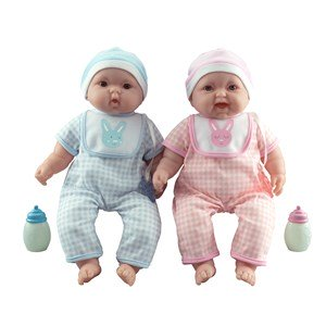 JC Toys Lots to Cuddle Babies Twins 24+ months