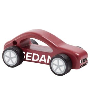 Kids Concept Træbil - Aiden - Sedan