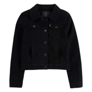 Levis - Denimjakke Black