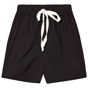 Little Creative Factory Black Washi Elasticated Waist Shorts 6 months