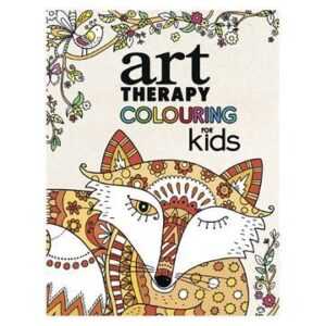 Malebog Art Therapy Colouring for Kids Softcover