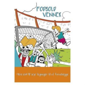 Malebog Fodbold venner Colours by CPH