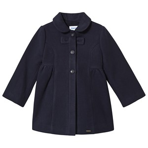 Mayoral Bow Detail Formal Coat Navy 6 months