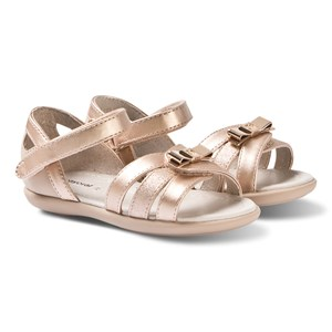 Mayoral Bronze Glitter Strap Sandals 21 (UK 4.5)