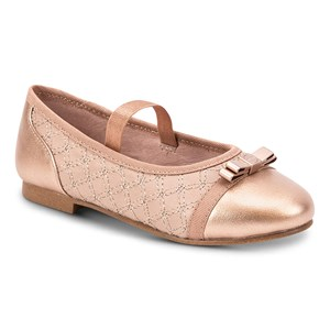 Mayoral Elasticated Strap Ballerina Shoes Pink 26 (UK 8.5)