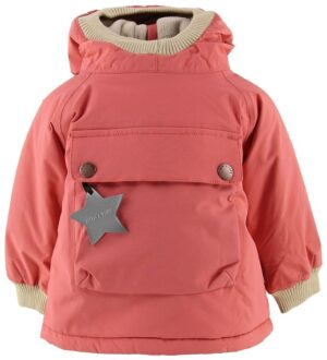 Mini A Ture Vinterjakke - Baby Wen Anorak - Faded Rose