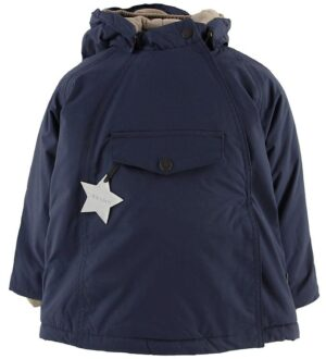Mini A Ture Vinterjakke - Wang - Peacoat Blue