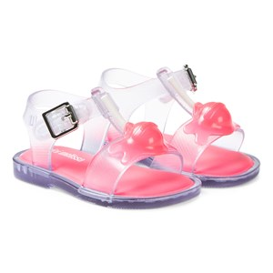 Mini Melissa Clear Mar Lollypop Sandals 19-20 (UK 4)