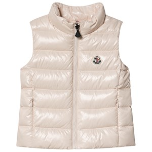 Moncler Ghany Dun Vest Pink 8 years