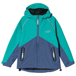Muddy Puddles Storm Hard Shell Jacket Navy/Green 18-24 months