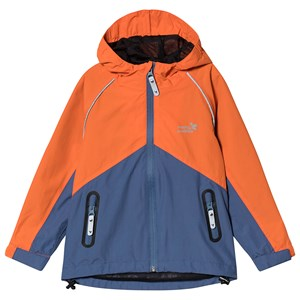 Muddy Puddles Storm Hard Shell Jacket Navy/Red 18-24 months
