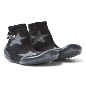 NUNUNU Star Collegien Slippers Black 18/19