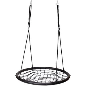 Oliver & Kids Net Gynge Ø110 cm i Sort One Size