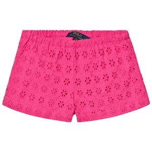 Ralph Lauren Pink French Embroidered Shorts 3 years