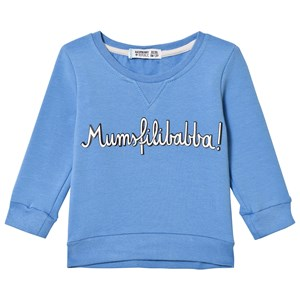 Raspberry Republic Sweatshirt Mumsfilibabba Blue 104/110 cm