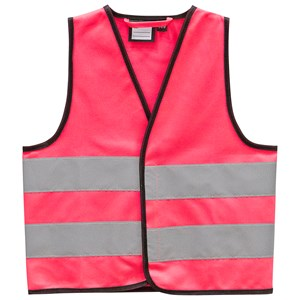 Safety Reflective Vest Pink 1-3 Years