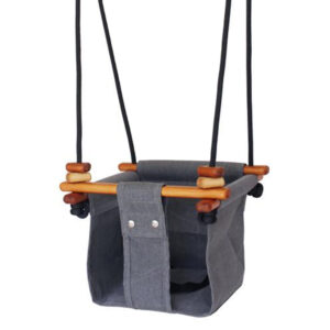 Solvej Swings gynge til baby og tumling, Smokey Grey