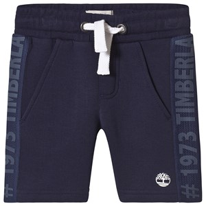 Timberland Navy Contrast Band Shorts 8 years