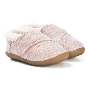 Toms Rose Cloud Lurex Slippers 36 (UK 3)