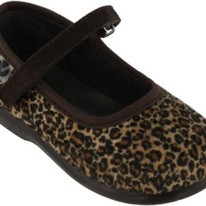Victoria Mercedes Leopardo Ballerina, Brown 18