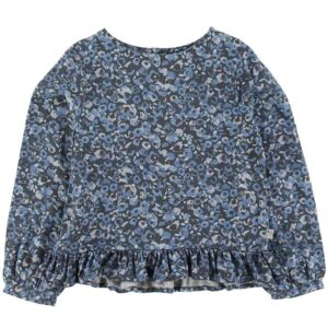 Wheat Bluse - Grit - Greyblue