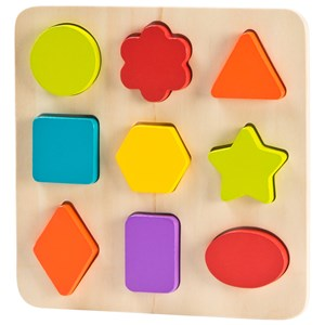 Wood Little Puzzle One Size