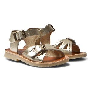Young Soles Pearl Sandals Gold 21 (UK 4.5)