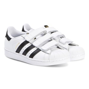 adidas Originals Superstar Foundation Velcro Trainers White 28 (UK 10.5)