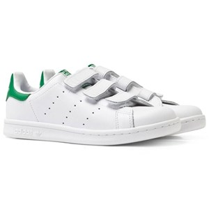 adidas Originals White Stan Smith Velcro Trainers 28 (UK 10.5)