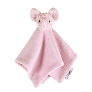 natureZOO Organic Light Purple Elephant Cuddle Cloth 0 - 24 months