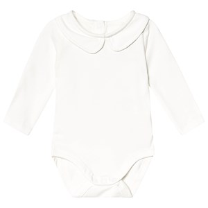 A Happy Brand Collar Baby Body White 86/92 cm