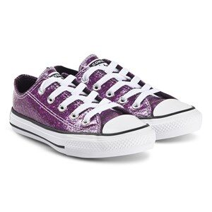 Converse Sparkly Chuck Taylor Sneakers Grand Purple 27 (UK 10)