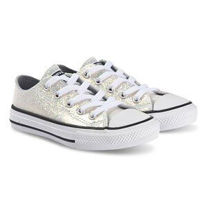 Converse Sparkly Chuck Taylor Sneakers Wolf Grey 27 (UK 10)