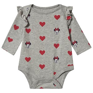 GAP Disney Baby Body Minnie Mouse Grey Heather 0-3 mdr