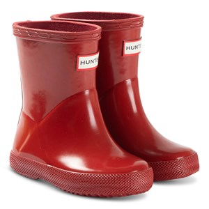 Hunter Kids First Classic Gummistøvler Military Red 28 (UK 10)