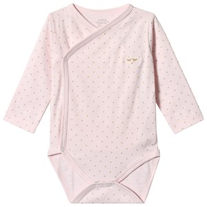 Livly Saturday Crossed Body Baby Pink/gold Dots 3-6 mdr