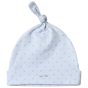 Livly Saturday Tossie Hat Baby Blue/silver Dots 3-6 mdr