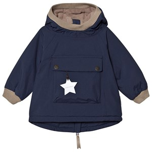Mini A Ture Baby Wen Anorak Peacoat Blue 74 cm (6-9 mdr)