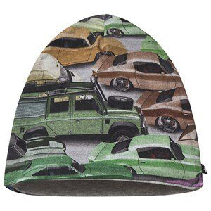 Molo Ned Baby Hat Cars 0-3 mdr