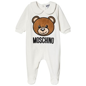 Moschino Kid-Teen Bear Velour Footed Baby Body Cream 3-6 months