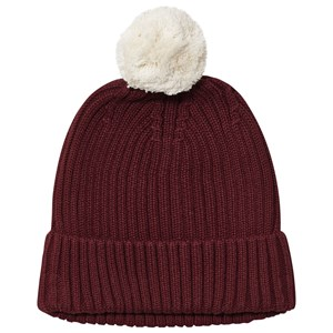 One We Like Knitted Hat PomPom Syrah S (48-50 cm)