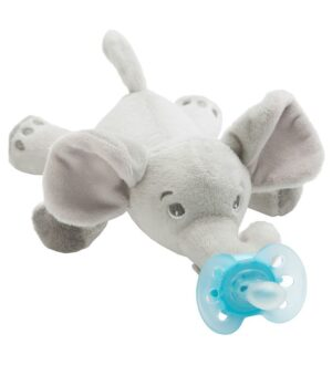 Philips Avent Sut m. Bamse - Ultra Soft - Elefant