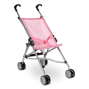 STOY Dolls Mini Buggy Stroller Pink One Size