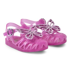 Sophia Webster Mini Fuchsia Riva Jelly Sandals 23-24 (UK 6-7)