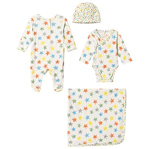 Stella McCartney Kids Multicolor Star Body and Blanket Set 6 months