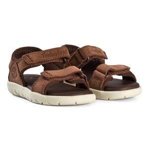 Timberland Nubble Sandals Leather in Cappuccino 23 (US 6,5)