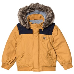 Timberland Water Repellent 2-in-1 Jacket and Gilet Mustard 4 years