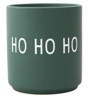 Design Letters Kop - Favourite Cups - Ho Ho Ho - Dark Green