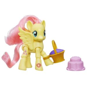 My Little Pony Equestria ''Poseable'' Fluttershy Picnic